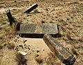 Tombstones - Jewish cemetery in Karczew, Otwock County, Masovian Voivodeship, Poland. - panoramio (8).jpg