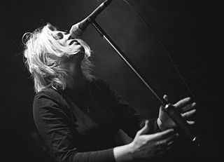 Toni Halliday British musician