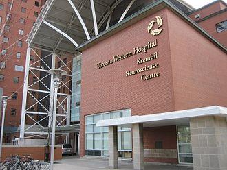 Toronto Western Hospital - Toronto Western Hospital Krembil Neuroscience Centre.