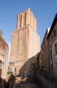 Torre delle Milizie from Mercato di Traiano