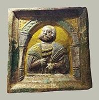 Toruń Tile with bust of a man.jpg