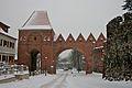Toruń castle in the snow.jpg