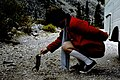 Tourist feeding chipmunk near Glacier National Park.jpg
