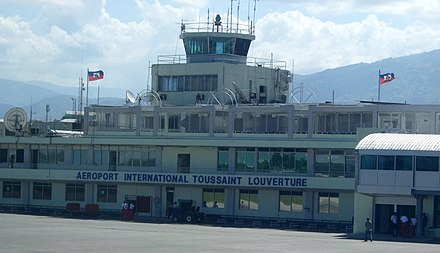 Toussaint L'Ouverture International Airport Toussaint Louverture International Airport.jpg