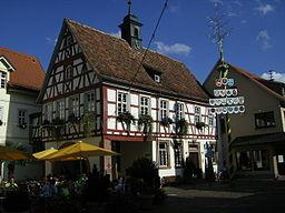 Townhall in Schriesheim, Rhein-Neckar-Kreis, Baden-Württemberg, Germany