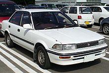 универсал toyota corolla wagon 4wd шестого поколения