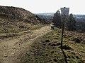 Track on Crompton Moor - geograph.org.uk - 1743316.jpg