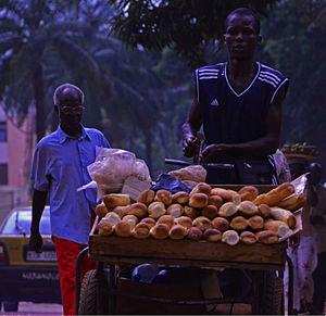 Trading methods in Bangui Market