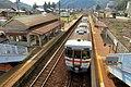 Train of JR Takayama Main Line stopping at Sakahogi Station.jpg