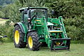 Traktor John Deere 5080 R und Frontlader John Deere 583.JPG