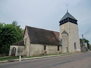 Trannes - Image: Trannes église