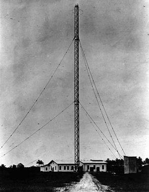 Togoland Campaign - Image: Transmitter mast kamina togo