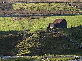Trefil Human settlement in Wales