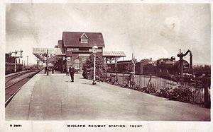 Trent railway station - Image: Trent railway station