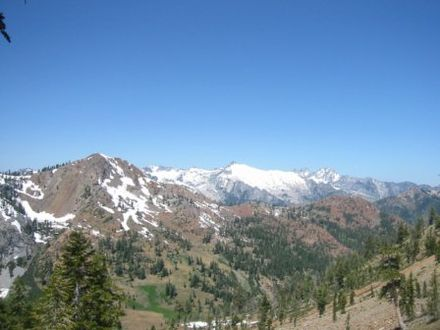 Klamath Mountains Trinity Alps near Granite Lake.jpg
