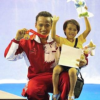 Triyatno Indonesian weightlifter