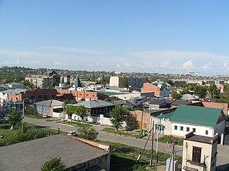Troitsk, Chelyabinsk Oblast - View of Troitsk