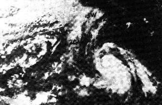 1968 Pacific hurricane season - Image: Tropical Storm Celeste (1968)