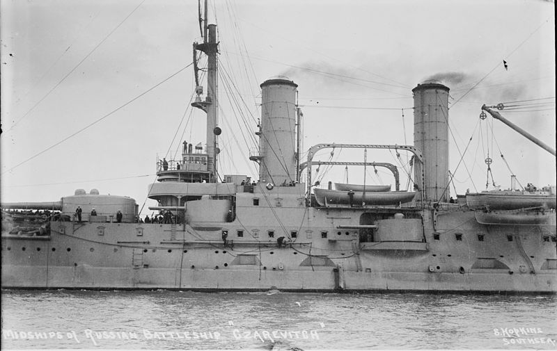 El buque insignia ruso, Tsesarevich