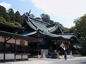 Mount Tsukuba - The ancient Shinto shrine at the foot of Mount Tsukuba.