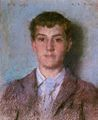 Tuke - Frank Hird - a commission for Lord Ronald Gower - colored chalks (29 x 24 cm.), 1894.jpg