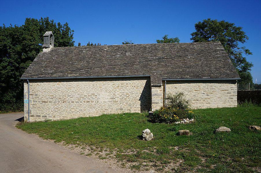 Turcey – Chapelle Saint-Hubert-de-la Rochotte.   Côte-d'Or Bourgogne-Franche-Comté.- France