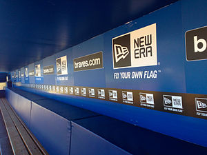 Turner Field - Inside the Braves dugout
