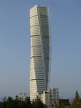 De Turning Torso in 2005