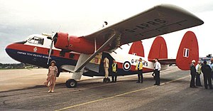 Scottish Aviation Twin Pioneer - Twin Pioneer of Air Atlantique at Exeter in 1998