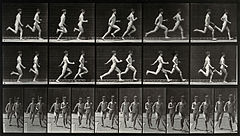 Two adolescents are running. Photogravure after Eadweard Muy Wellcome V0048638.jpg