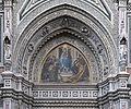 Tympanum right mosaic santa Maria del Fiore Florence.jpg