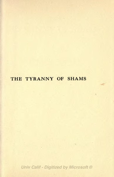 File:Tyranny of Shams (1916).djvu