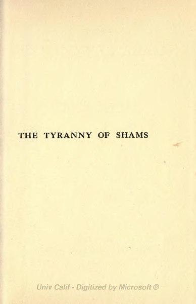 File:Tyranny of Shams (1916).djvu