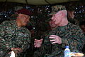 U.S. Marine Corps Lt. Gen. John Toolan, right, the commander of Marine Corps Forces Pacific, speaks with Malaysian army Gen. Tan Sri Raja Mohamed Affandi bin Raja Mohamed Noor, the chief of the Malaysian army 140902-M-CB493-009.jpg