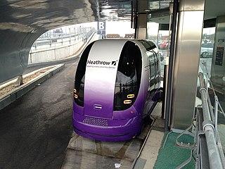ULTra (rapid transit) Personal rapid transit PODCAR system
