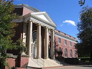 University of Mary Washington - Once the library, Trinkle Hall features a rotunda. Today, it houses the Classics Philosophy and Religion, Mathematics, and Computer Science departments
