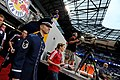 USAF Master Sgt. sings at MLS game (7830905372).jpg