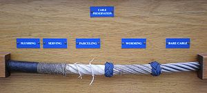 USCGC Eagle cable preservation sample2.JPG