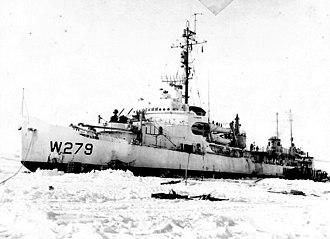 Wind-class icebreaker - USCGC Eastwind (WAGB-279)