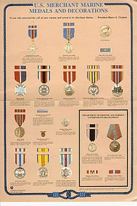awards and decorations of the united states merchant marine wikipedia