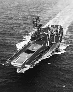 USS <i>Intrepid</i> (CV-11) Essex-class aircraft carrier of the US Navy