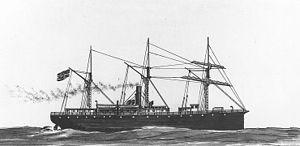 USS Montgomery (1858) - USS Montgomery (1861)