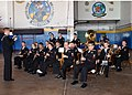 US Navy 050418-N-1550W-002 A U.S. Navy band plays at the change of command ceremony for Patrol Squadron Five (VP-5).jpg