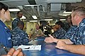 US Navy 100413-N-8374E-348 Capt. Hank R. Reeves, sitting center, project director for the Sea Warrior Program Integrated Learning Environment, l.jpg