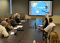 US Navy 110908-N-CI293-025 Rear Adm. Robin M. Watters, chief of staff for U.S. Pacific Command, speaks to professors at the University of Nebraska.jpg