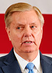 US Senator of South Carolina Lindsey Graham at FITN in Nashua, NH by Michael Vadon 05 (cropped).jpg