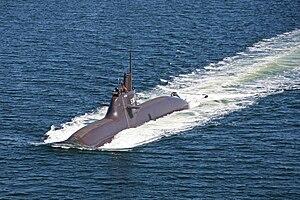 Type 212 submarine - Image: U 34 in Fahrt