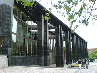 University of Oslo - The library building at the Blindern campus, houses the Library of Arts and Social Sciences.
