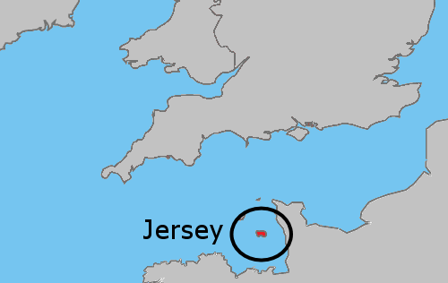 Položaj Jerseyja