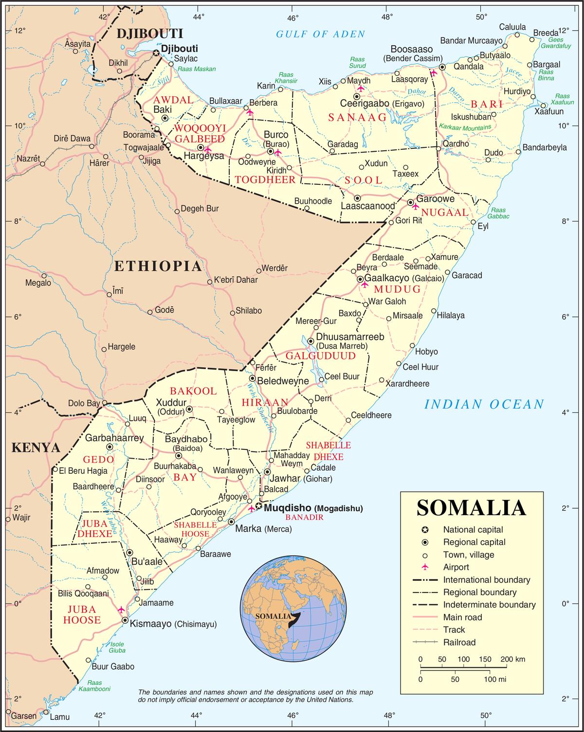 2017 timeline of the War in Somalia - Wikipedia
